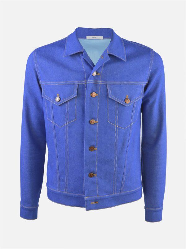 Jeansjacke retro blau