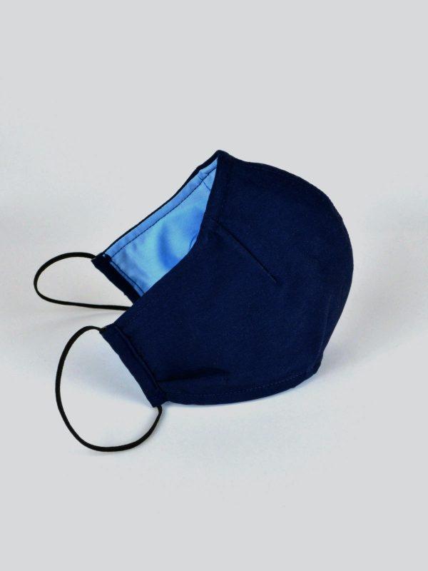 Mund-Nasen-Maske blau