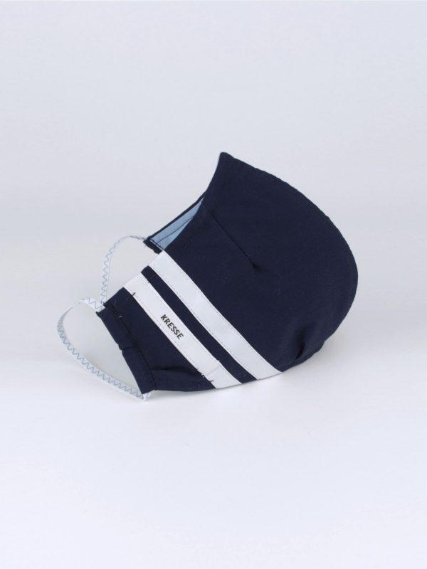 Mund-Nasen-Maske sportlich blau