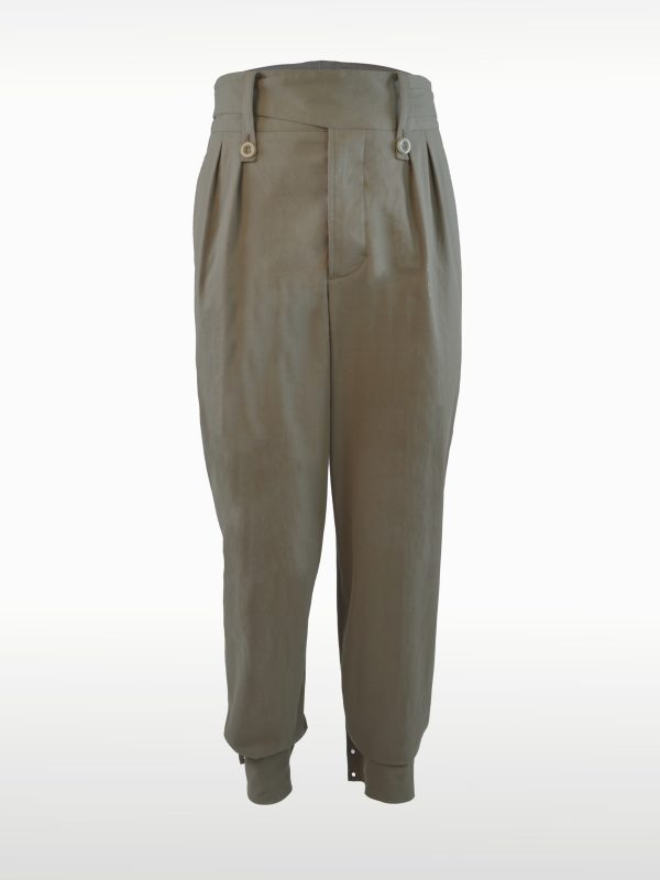 Bundfaltenhose High-Waist
