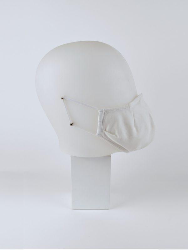 Mund-Nasen-Maske weiss