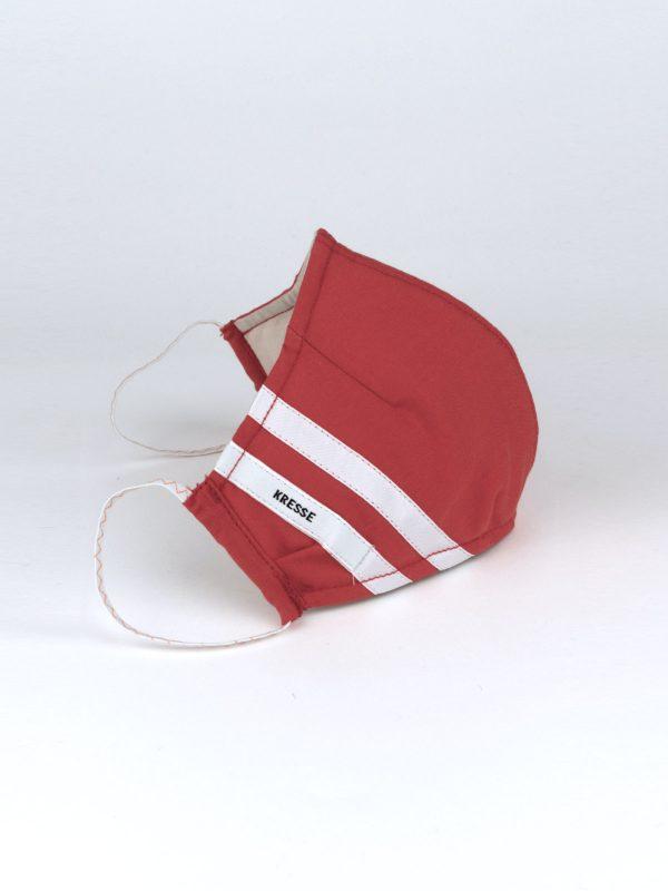 Mund-Nasen-Maske sportlich rot