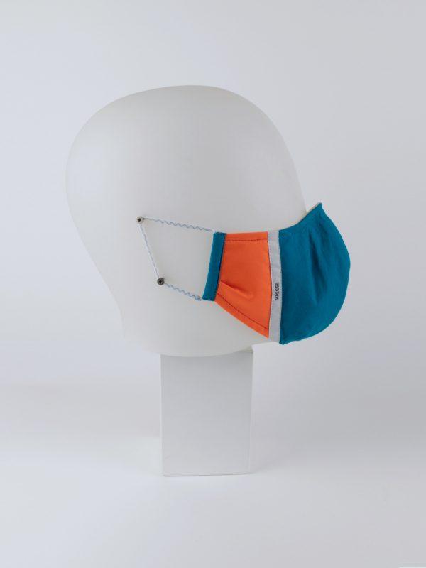 Mund-Nasen-Maske pantone retro